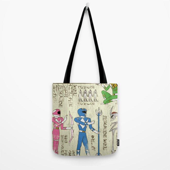 Hero-Glyphics: Power Tote Bag