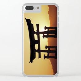 Miyajima Torii Gate Clear iPhone Case