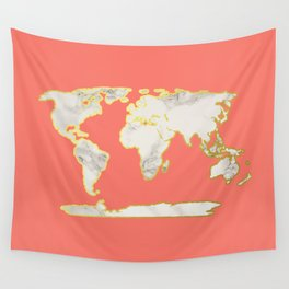 Marble Map Wall Tapestry