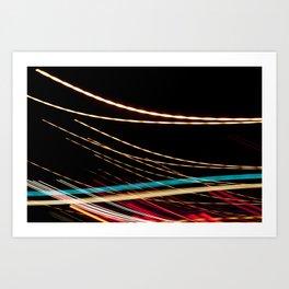 Dallas Traffic #93 Art Print