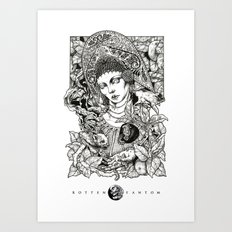 Russian Beauty  Art Print