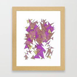 Abstract Edges #3 Framed Art Print