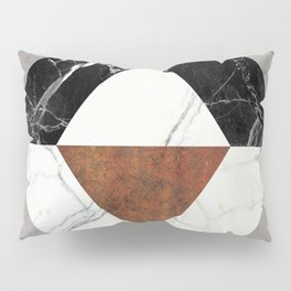 Marble Abstract Pillow Sham