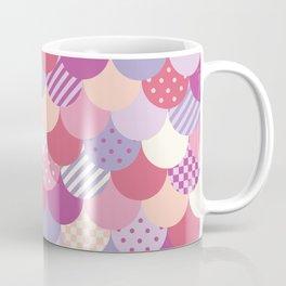 Valentine Mermaid Quilt Coffee Mug