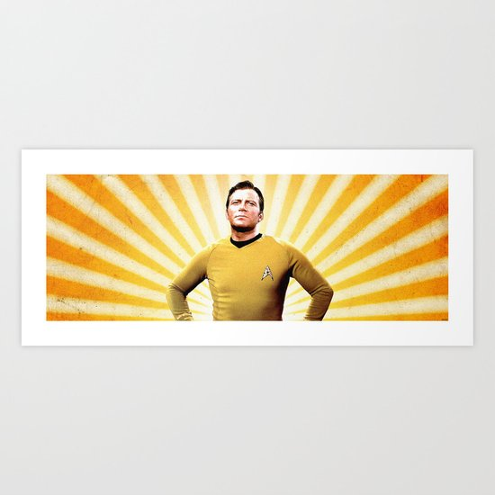 Oh Captain, My Captain Art Print