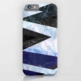 Marble stone ( frozen ) iPhone Case