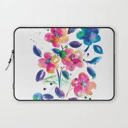 Bright flowers Laptop Sleeve