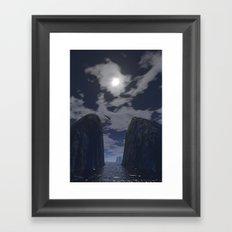 FEARLESS 2 Framed Art Print