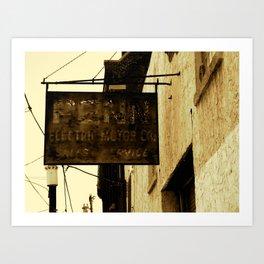 Penn Electric  Art Print