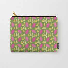 Pattern Project #28 / Cats & Pears Carry-All Pouch