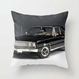 1967 MOPAR Coronet RT Throw Pillow
