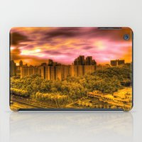 korea iPad Cases featuring Sunrise in Korea by Anthony M. Davis