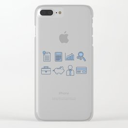 Time To Pay Taxes Clear iPhone Case