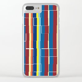 zakiaz primary design Clear iPhone Case