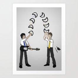 Tambourine Toss Art Print
