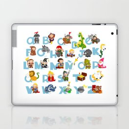 ABC  medieval (spanish) Laptop & iPad Skin