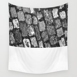 Steps and stones Wall Tapestry