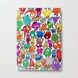 The shapely bunch Metal Print