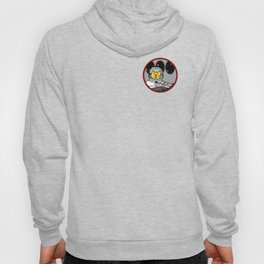 Space Captain Yellow Cat In Control Hoody