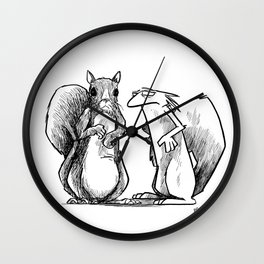 Identity of self Wall Clock