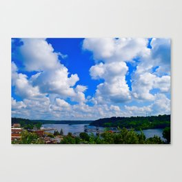 Beautiful Stillwater Canvas Print