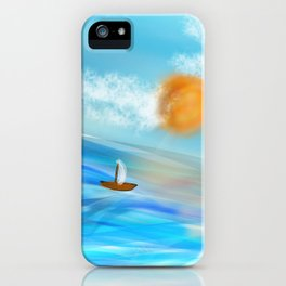sunny's coming iPhone Case