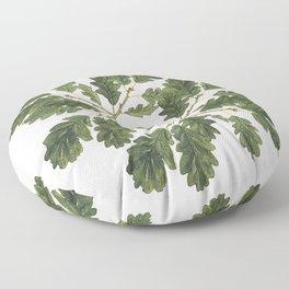 Oak ensemble (Cream  ground) Floor Pillow