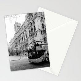Madrid City Tour BW Stationery Cards