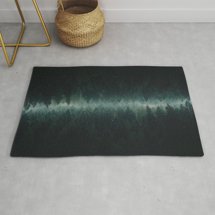 Forest Reflections Rug