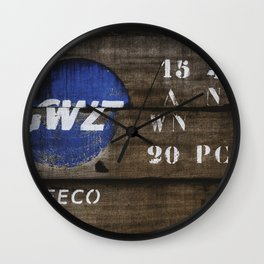 Wood GWZ Wall Clock
