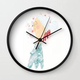 Bleeding Bun Wall Clock
