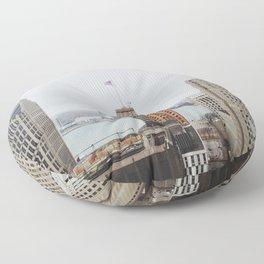 Architectual Variety - Detroit, MI Floor Pillow