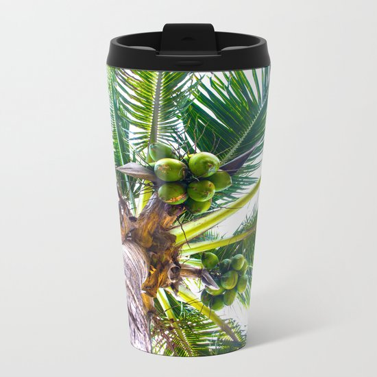 How About Those Coconuts Metal Travel Mug