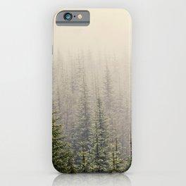 Mountain Haze iPhone Case