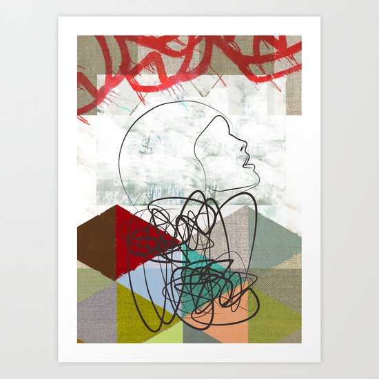 Lea Art Print