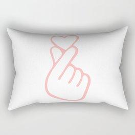 HEART HAND Rectangular Pillow