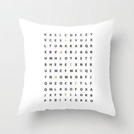 Wanna Hear A Secret Throw Pillow