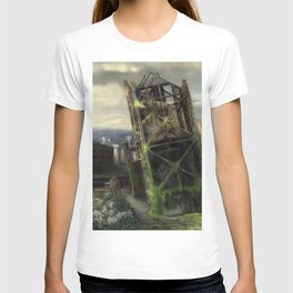 Portland in 100 years with no people T-shirt