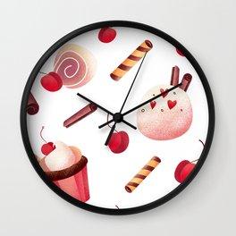 sweets Wall Clock