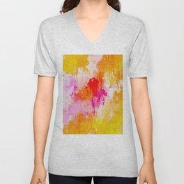 Abstract IX Unisex V-Neck