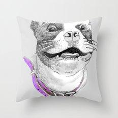 Bunix Pug Throw Pillow