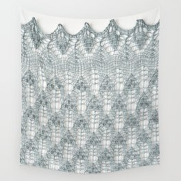 Estonian lace knitting with nupps Wall Tapestry