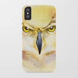 Angry Owl iPhone Case