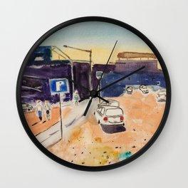 Nevada Parking Wall Clock