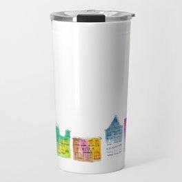 Swedish houses Travel Mug