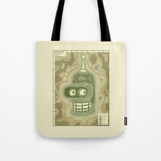 Popography: Bender Basin Tote Bag