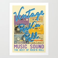 Vintage Art Print