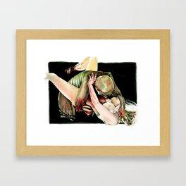 Bite Framed Art Print