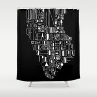 manhattan Shower Curtains featuring Manhattan by Robert Farkas