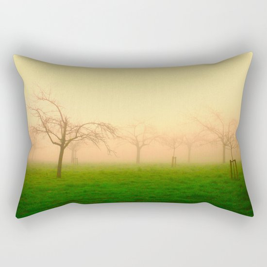 Morning Fog  - JUSTART © Rectangular Pillow